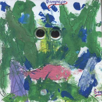 CANGREJO, Pintura Infantil, enero 2012